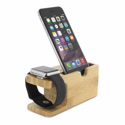 2 in 1 Desktop Stand Holder Docking Station Mount for Apple iWatch & iPhone 6 6S
