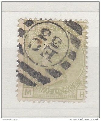 GB QV 4D Sage Green Plate 15 SG153 Fine Used ZZ663