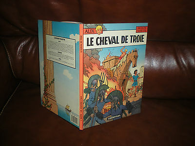 Alix N°19 Le Cheval De Troie - Edition Originale Dl Avril 1988 N°3521