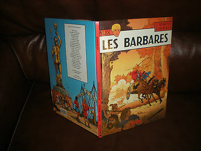 Alix N°21 Les Barbares - Edition Originale Dl Octobre 1998