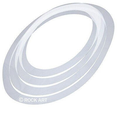 """NEW Drum SOUND CONTROL RINGS 4 PACK ROCK 12""""13""""14""""16"""" Like Evans E-RINGS RemOs"""