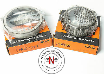 Your Choice: Timken Lm603011 & Lm603049 Tapered Roller Bearing & Cup