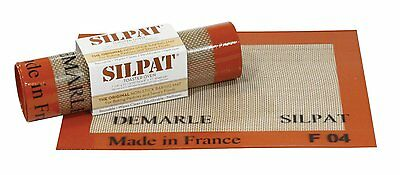 """Demarle Silpat for Toaster Oven 7 7/8"""" x 10 13/16"""" Made in France Fits 8x11 Pan"""
