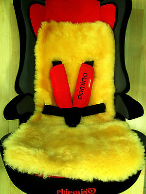 Medical Sheepskin Seat Liner Pram Pushchair Stroller Car seat Baby