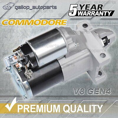 For Holden Starter Motor Commodore VZ VE Gen4 LS2 LS3 V8 6.0L Petrol WM L76 L98