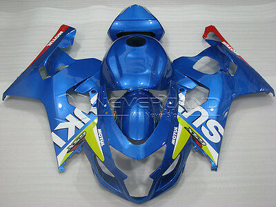 Injection Bodywork Fairing kit For 2004-2005 Suzuki GSXR600 GSXR750 K4 Moto #089