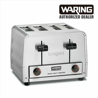 Waring WCT815 Heavy Duty Combination Toast Bagel Toaster 240 Volt 1 YR WARRANTY