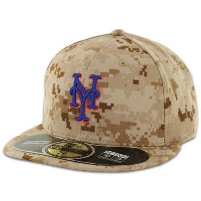 New York METS 2015 ALTERNATE DESERT CAMOUFLAGE New Era 59FIFTY Fitted Cap Hat