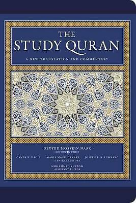 Study Quran: A New Translation and Commentary -- Leather Edition by Seyyed Hosse