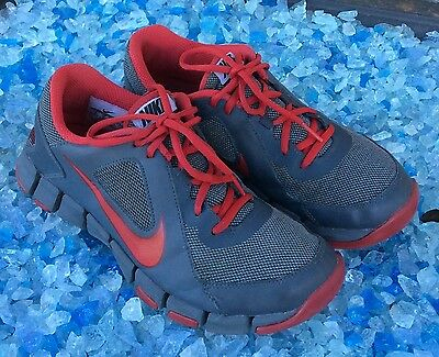 197e5054f3d9 NIKE FLEX SHOW TR 2 MEN S Gray Red TRAINING SHOES SIZE 8(41) 610226 ...