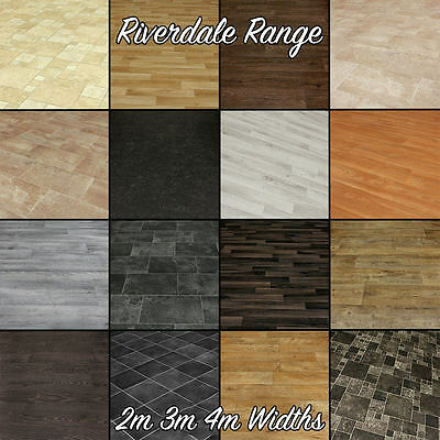 Quality Thick Vinyl Flooring - Slate, Wood, Stone and Tile Designs. CLEARANCE!