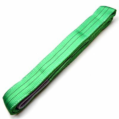 3M x 60mm 2 Ton Lifting / Towing Webbing Sling Recovery Strap Rope IRE TE322