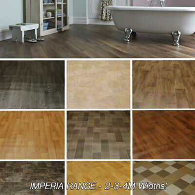 High Quality Vinyl Flooring, Woods - Stone and Tile Designs. Lino Kitchen NEW!!