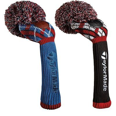 2016 TaylorMade Pom Pom Argyle Performance Golf Driver Headcovers