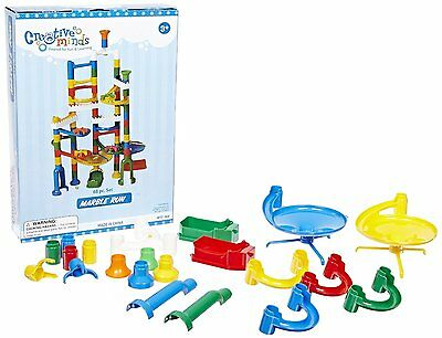 Marble Run Construction Toy 68 Pcs Pieces Set Track Toy Super Game Playset ~ NEW