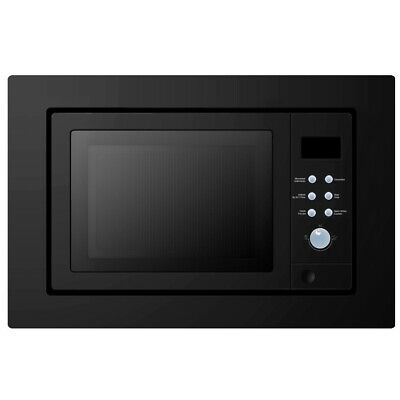 Cookology Built-in Combi Microwave Oven & Grill | IMOG25LBK Black 25 Litre
