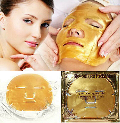 Premium Crystal Collagen Facial Care Gold Face Mask Moisture Anti Wrinkle Patch