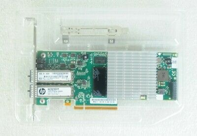 QLE3242- HP NC523SFP DUAL PORT 10Gb SERVER ADAPTER W/ LP BRACKET