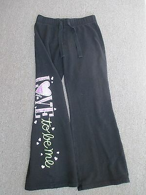 Cute Girls size 10 Justice love to be me sweats