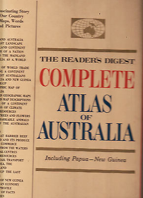 The Reader's Digest Complete Atlas Of Australia Including Papua New Guinea