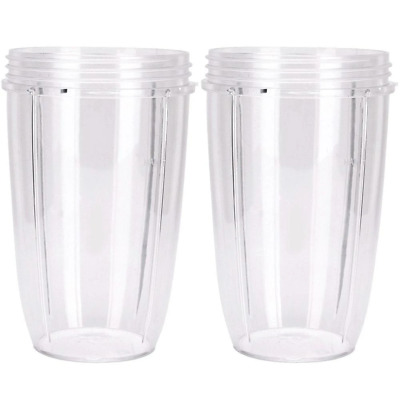 2 NUTRIBULLET COLOSSAL BIG LARGE TALL CUP 32 Oz - Nutri Bullet 600 & 900 Models