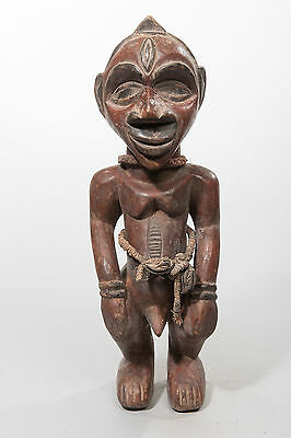 Bembe Male Ancestor Sculpture, D.R. Congo, Zambia, African Tribal Statue