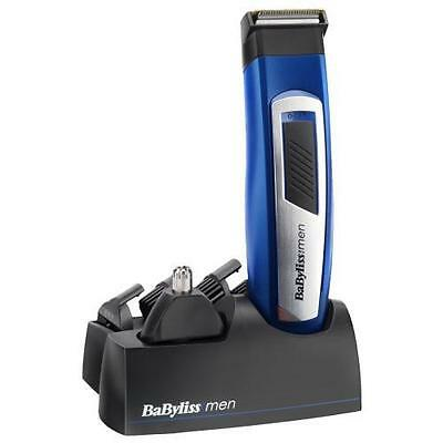 Babyliss 7057U Professional 6 in 1 Mens Grooming Kit Mains/Rechargeable - New
