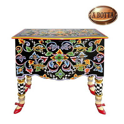 Scultura TOM'S COMPANY Cassettone Kommode Drawer Chest THE BLACK COLLECTION
