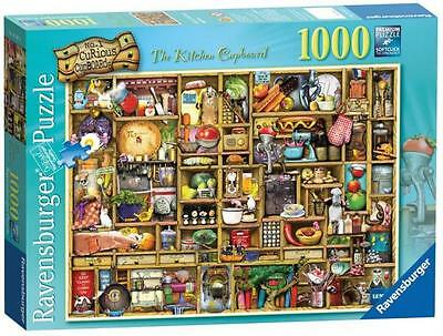 Ravensburger 19107 The Curious Kitchen Cupboard 1000 Pieces Adults Jigsaw Puzzle