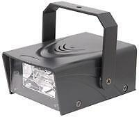 QTX 153.320 20W High Intensity Mains Powered Variable Mini Party Strobe Light