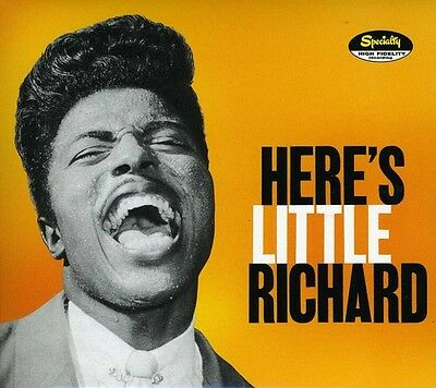 Little Richard - Here's Little Richard [New CD] Rmst, Digipack Packaging