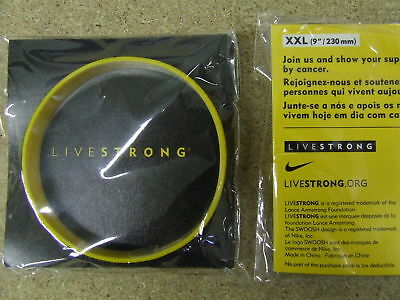LIVESTRONG Wrist Band Lance Armstrong NEW XX Large 2011
