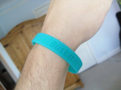 LEUKAEMIA Charity Awareness Wristband Bust it ! *** NEW
