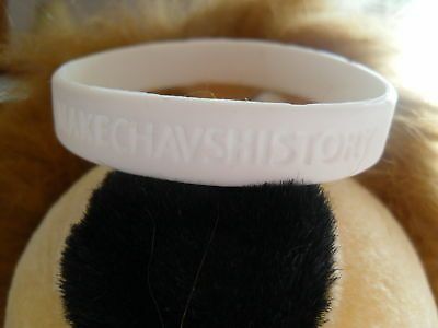 3x End Chavs Wristband White Funny anti social Chav behavior drink Bracelet ASBO