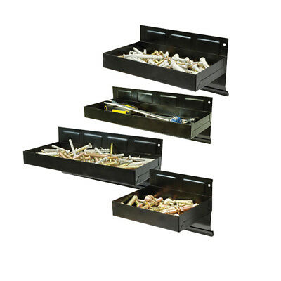 Silverline Tools - Magnetic Tool Tray Set 4pce - 150 - 310mm