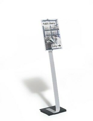 ~ DURABLE Infoständer CRYSTAL SIGN stand, DIN A3