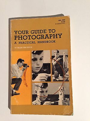 "Vintage ""YOUR GUIDE TO PHOTOGRAPHY - A Practical Handbook"" - 1965 Bruce"
