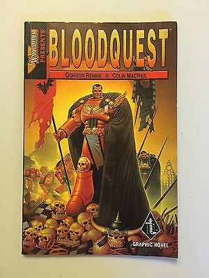 Games Workshop Warhammer Monthly Blood Angels Bloodquest Graphic Novel Comic