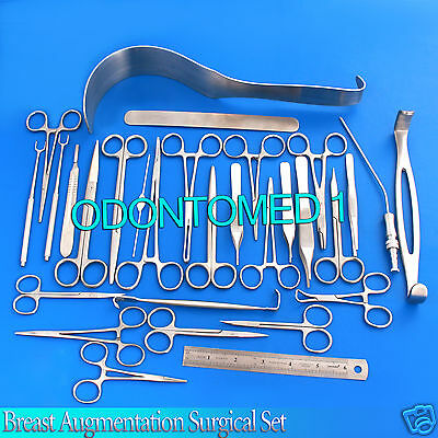 54 Pcs Breast Augmentation Surgical Instrument Set