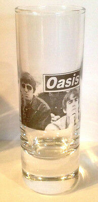 OASIS Noel and Liam Gallagher SHOT GLASS
