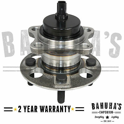 TOYOTA YARIS Mk2 1.0 1.3 1.4 1.30  REAR WHEEL BEARING & HUB + ABS SENSOR 06-ON