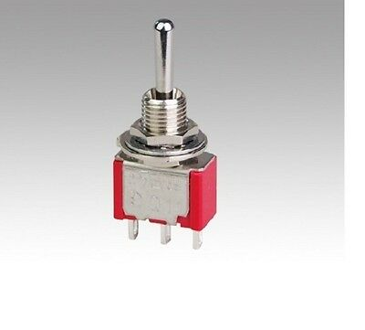 Momentary SPDT Toggle Switch for Hornby Peco SEEP Gaugemaster Single Pole SW83