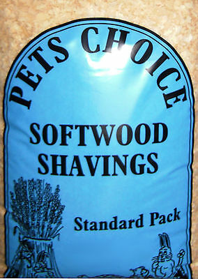 Softwood Shavings Sawdust Odour & Moisture Control Pet Bedding 2.4kg Bags