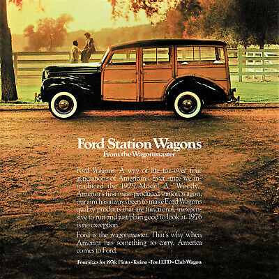 1976 Ford Station Wagon Sales Brochure