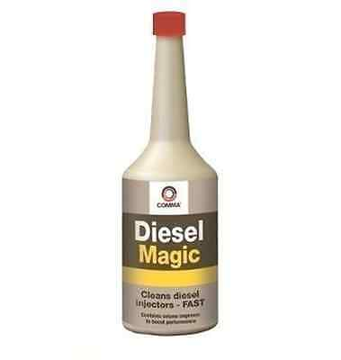 Comma Diesel Magic 400ml - Fuel Cleaner Additive, Injector Cleaner