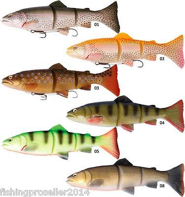 Savage Gear 3D Line Thru Trout 15cm and 20cm Moderate/Slow Shink bait lure NEW!