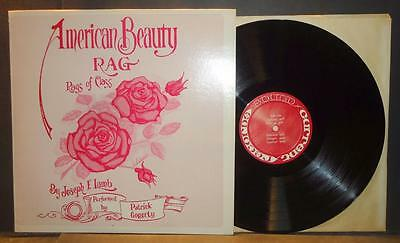 """Signed PATRICK GOGERTY """"american beauty rag"""" Private Label LP Charlatans SF band"""