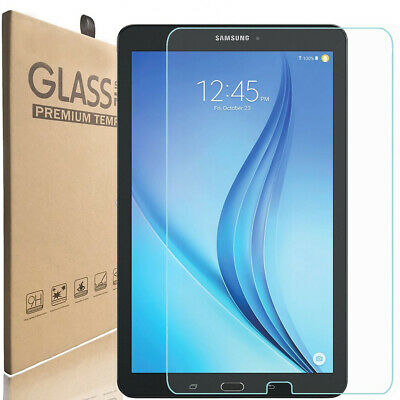 "Premium Tempered Glass Screen Protector for Samsung Galaxy Tab E 9.6"" T560 T561"