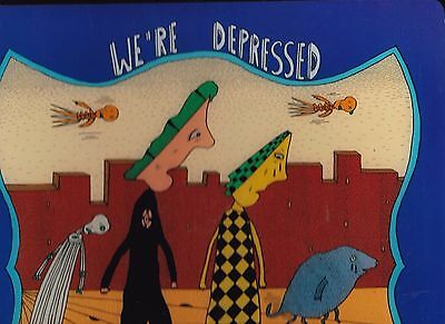 Mark Beyer We're Depressed Numbered & Signed Hardcover Book One Of 100 Copies
