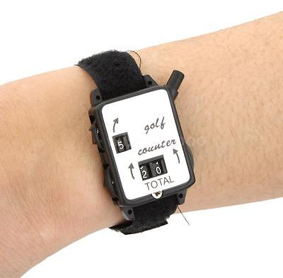 Golf Stroke Score Keeper Count Watch Shot Counter with Wristband Band NEW M0D4